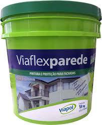 VIAPOL IMPERM. ACRILICO P/PARED EXT  3.6 Lts VIAFLEX