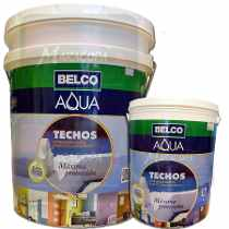 BELCO AQUA TECHOS IMPERMEABILIZANTE BLANCO  20K