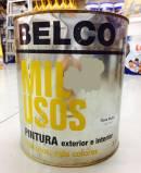BELCO PINTURA INT / EXT MIL USOS 3.60 LT ROSA RUBOR